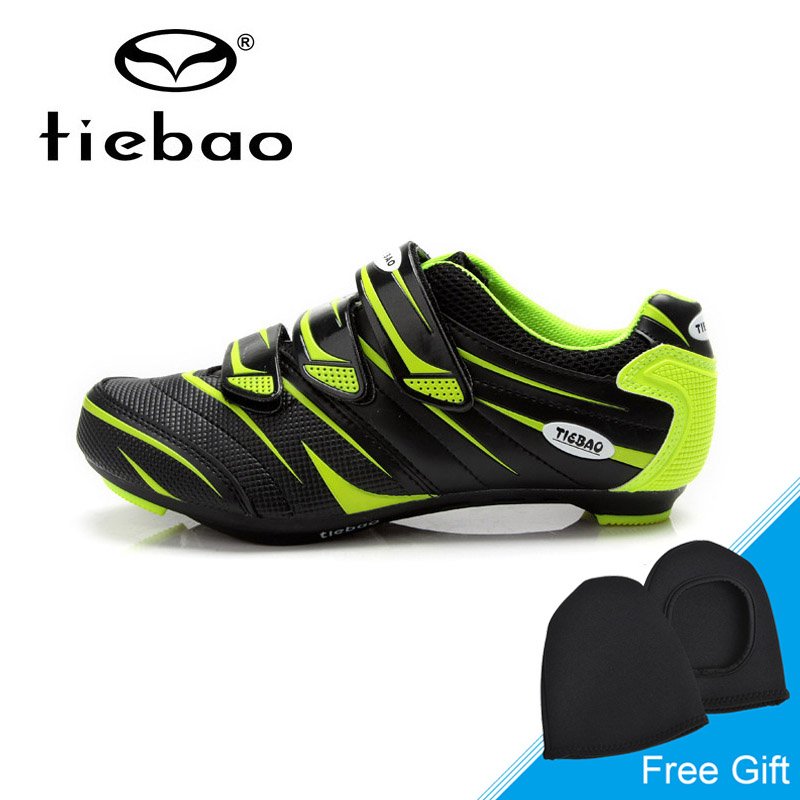 Tiebao Men Women Road Cycling Shoes Auto-lock Bicycle Sport Shoes Breathable Bike Shoes Athletic Sneakers zapatillas de ciclismo peak sport men outdoor bas basketball shoes medium cut breathable comfortable revolve tech sneakers athletic training boots
