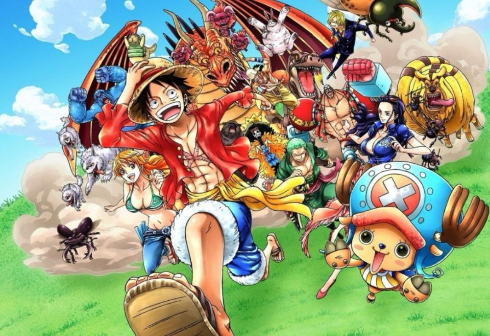 one piece animated - HD 5950×4913