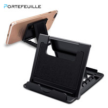 Portefeuille Universal Phone Holder for Samsung Galalxy 8 S9 note9 Card Stand cell phone Tablet Desktop Plastic desktop Holder(China)