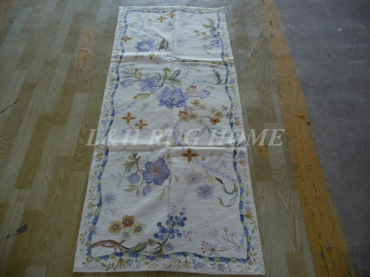 Us 199 0 Free Shipping 2 5 X6 Needlepoint Rugs Stunning Flying Birds Hand Woven Handmade Woolen Runners For Hallway Usage In Carpet From Home