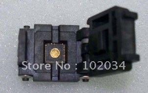 100% NEW  QFN28 4*4  0.4MM IC Test Socket / Programmer Adapter / Burn-in Socket (QFN28) 100% new sot23 sot23 6 sot23 6l ic test socket programmer adapter burn in socket
