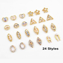 10pcs Glitter Gold 3d Nail Art Decorations Heart Horse Eye with Rhinestones, Alloy Nail Charms Jewelry for Nail Gel/Polish Tools 10g bag diy marquise acrylic gold sliver 3d nail art decorations charms glitter nail decoration tools sticker tips