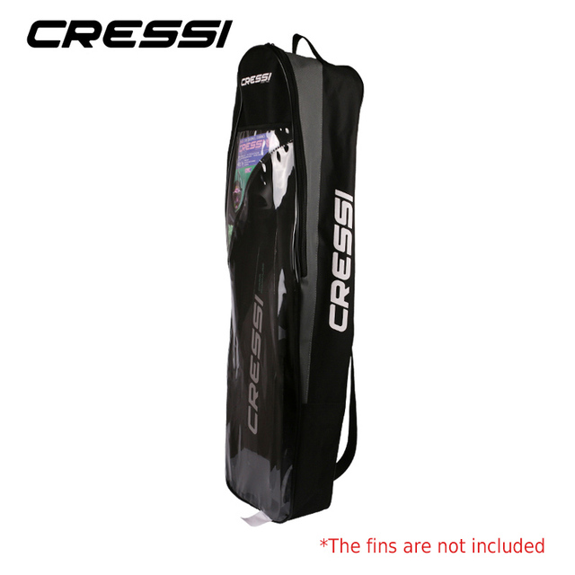 Cressi Free Diving Fin Bags Long Flipper Package Bag Easy Carry Diving Equipment Perfect for Long Fins 1