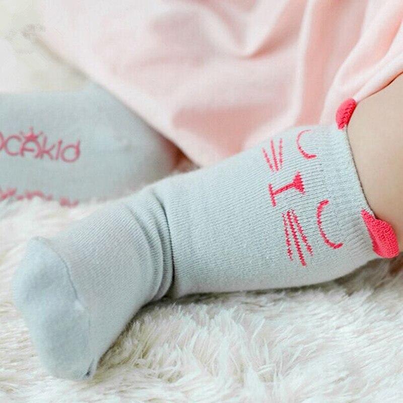 2015-Brand-White-And-Gray-Cat-Baby-Cotton-Girls-Socks-Fashion-Meias-Infantil-Boys-Socks-2