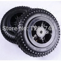 2PCS 8 Inch Pneumatic Wheels Rubber Wheel Tire Wheel Hub Adapted Wheelchair Scooters 200x50mm Electric Car
