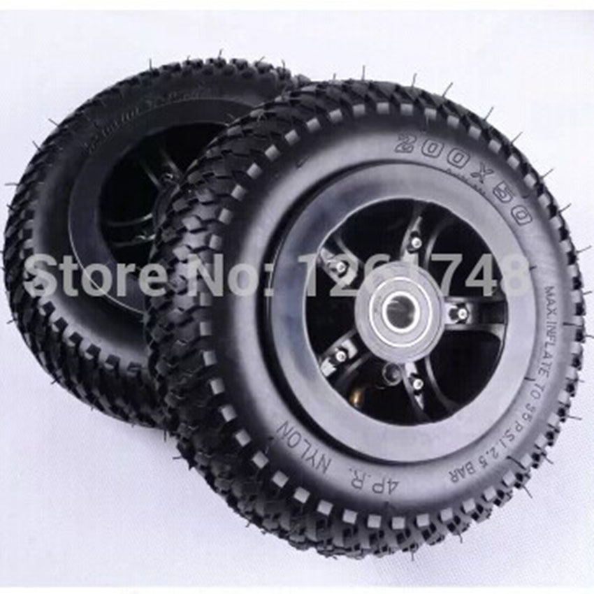 1pcs 8 inch pneumatic wheels rubber wheel tire wheel hub adapted wheelchair scooters 200x50mm. Black Bedroom Furniture Sets. Home Design Ideas