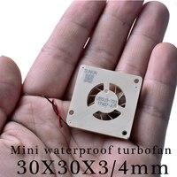 SUNON UB5U3-700 5 В 3003 3004 30x30x3 мм миниатюрный ультра-тонкая Водонепроницаемая турбореактивный
