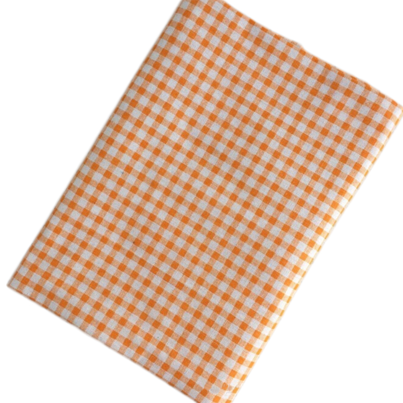 Back To Search Resultshome & Garden Apparel Sewing & Fabric Hometextile Cloth Crafts Cloth Diy Fabrics For Sewing Linen Fabric Lattice Cloth