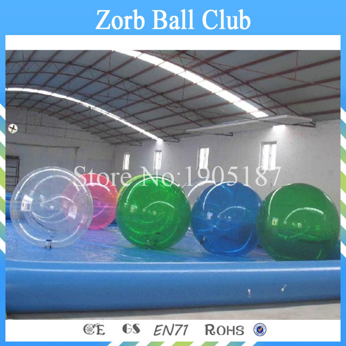 Free Shipping Cheap 5pcs +1Pump Inflatable Water BallFree Shipping Cheap 5pcs +1Pump Inflatable Water Ball