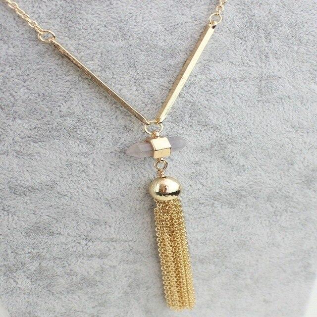 Купить chicvie ожерелье золотого цвета с кристаллами воротник длинные картинки