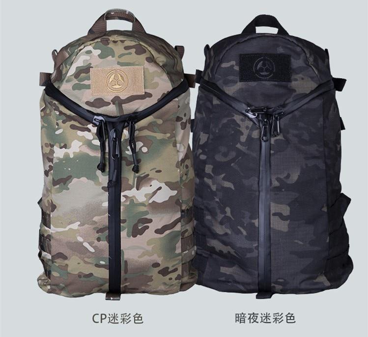 Ventilador do exército multi-função tático mochila masculino