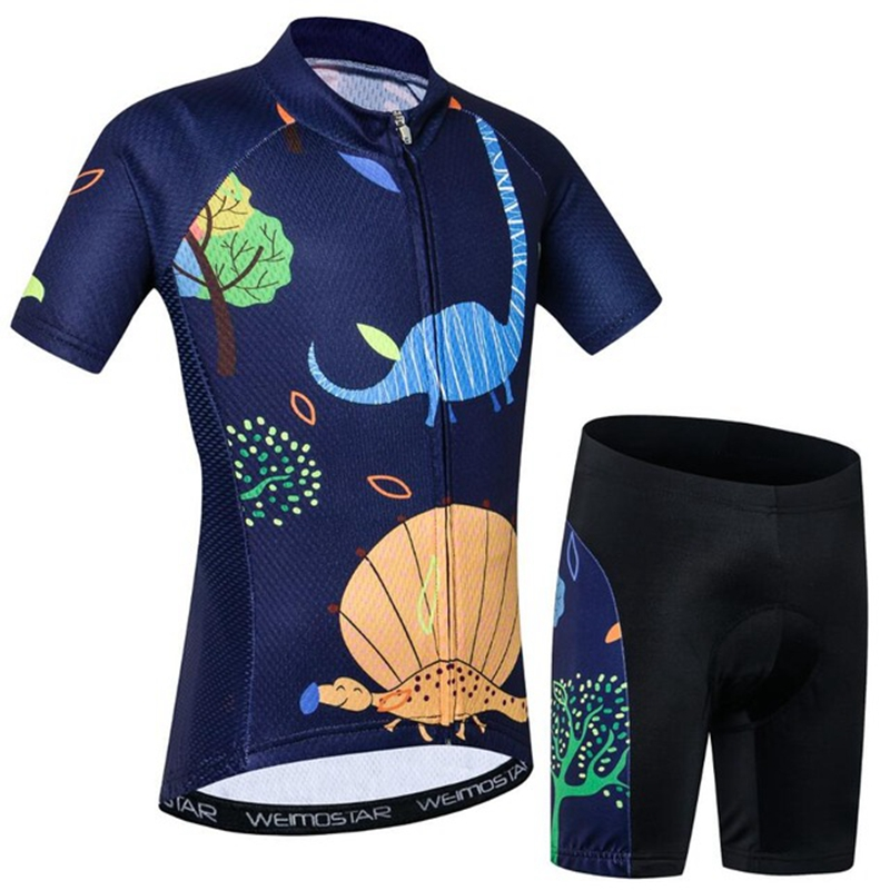 a79d0967bd1 Cycling Jersey Kids Jersey Shorts sets Children Bike MTB Clothing Bicycle  Top Ropa Ciclismo Girl Boy mtb Shirts Suit-in Cycling Sets from Sports ...