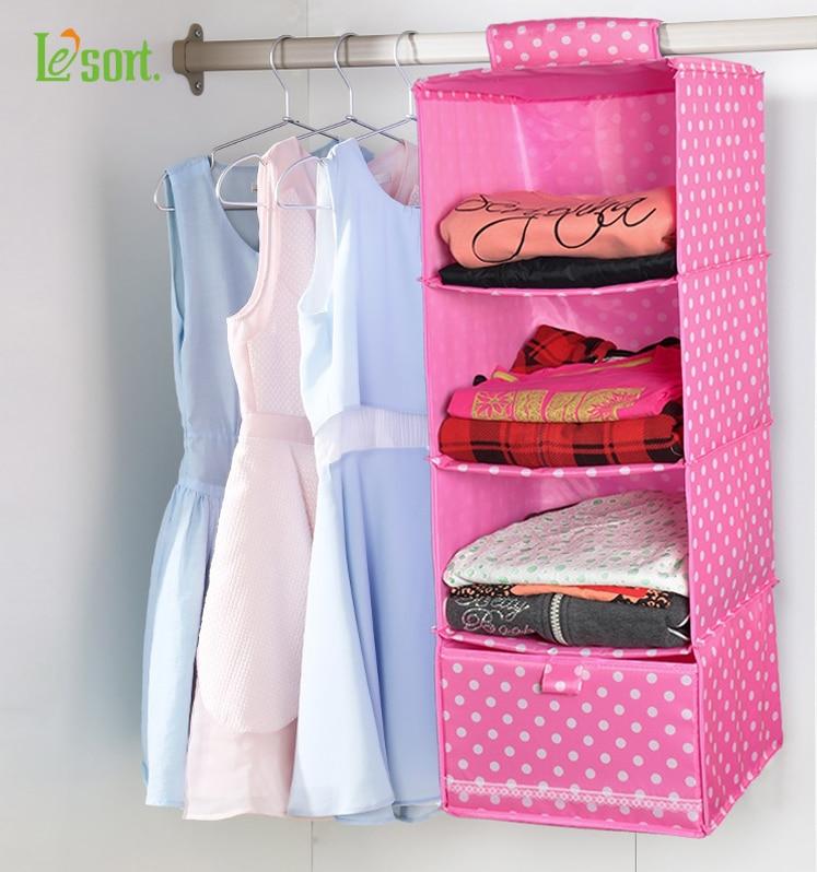 Lesort Penyimpanan almari penganjur Warna boleh dibasuh penganjur - Organisasi dan penyimpanan di dalam rumah