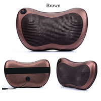 Home Car Dual Use Multifunction Massager Auto Massage Pillow Cervical Lumbar Leg Neck Massager Infrared Heating