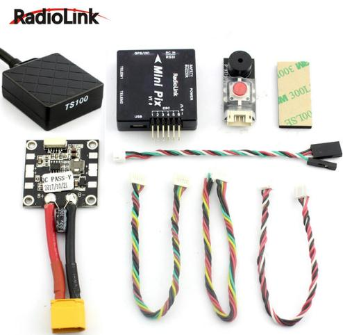 Radiolink Mini PIX pixhawk M8N GPS Flight Controller with Vibration Damping by Software for Racing Drone/Helicopter/Fixed Wing(China)