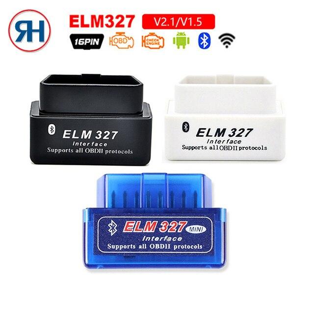 OBD2 Super Mini ELM327 Bluetooth V2.1 / V1.5 OBD2 Car Diagnostic Tool ELM 327 Bluetooth For Android/Symbian For OBD 2 Protocol