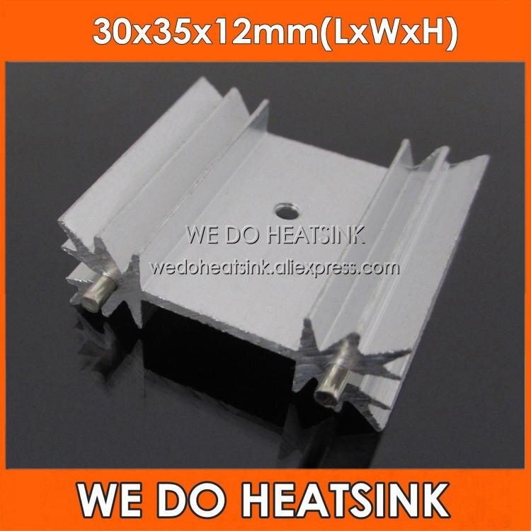 TO-220 Aluminum Radiator Heatsink 10pcs 40x15x10mm TO220