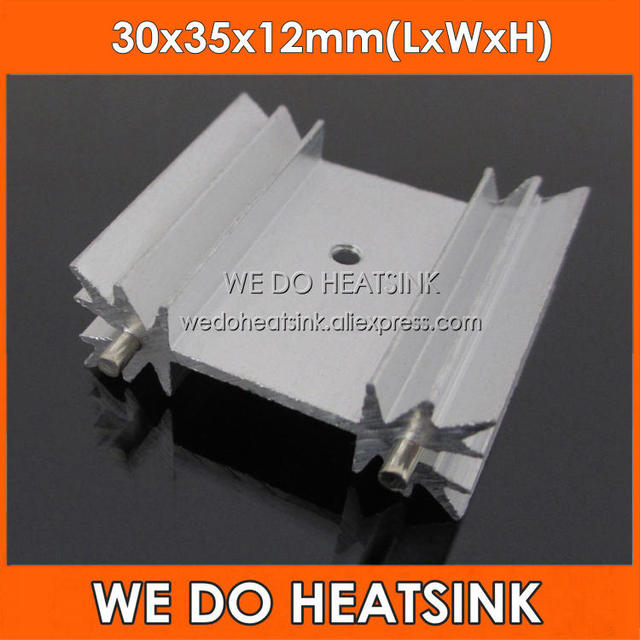 WE DO HEATSINK 5Pcs 30*35*12mm Extruded Heatsink For MOSFET TO-220/TO220