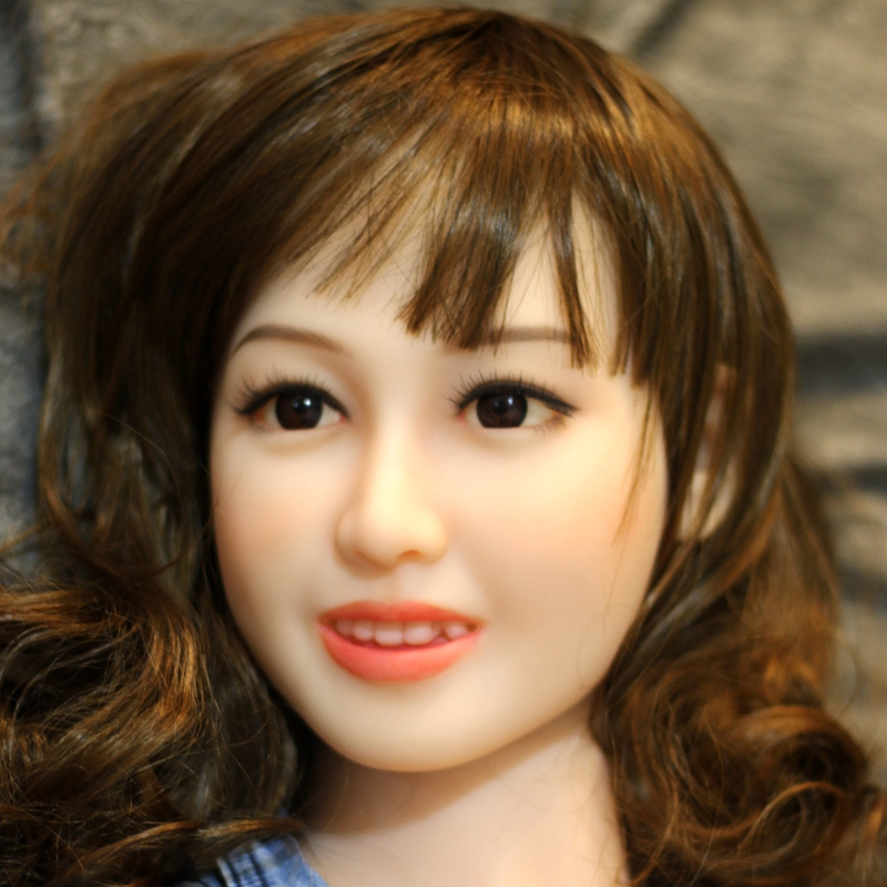 WMDOLL Sex Doll Head With Tooth For Japanese Love Dolls Heads For Oral Sex