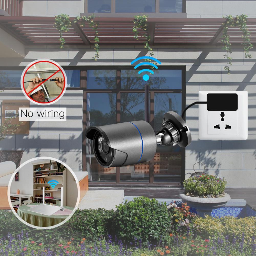 Gadinan 1080P Yoosee Wifi IP Kamera Onvif 2.0MP HD Outdoor Wetterfeste Infrarot Nachtsicht Kugel Video Überwachung Kamera
