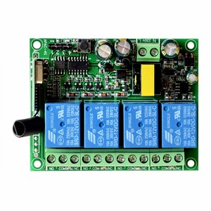 Image 3 - ALARMEST akıllı ev 4CH için röle çıkışı kontrol küçük ev aletleri için G90B wifi alarm ev güvenlik sistemleri