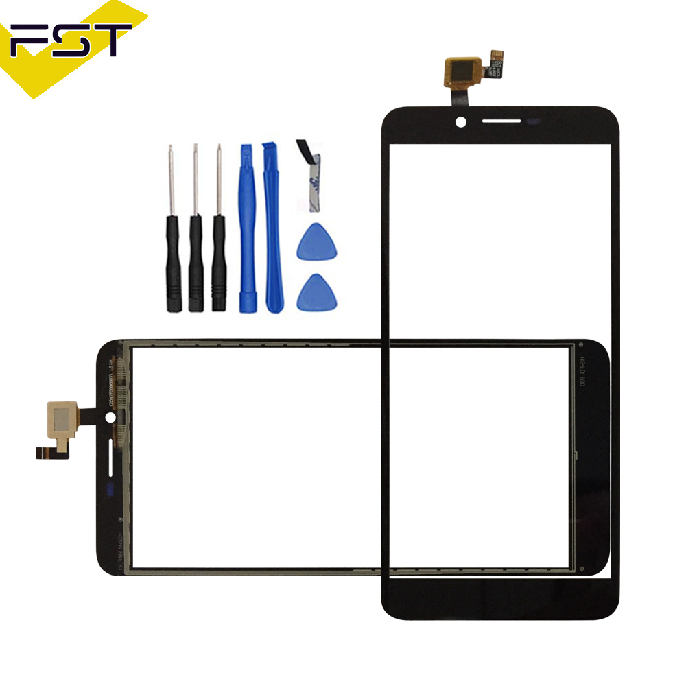 5.5''Black Touch Screen For Doogee X60L Perfect Repair Parts Touch Panel Sensor Glass Lens For Doogee X60L Phone+Tools