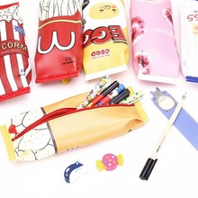 1pcs/lot Snack Pen Bag Six Selection For Beautiful Gifts And Students School Suppiles
