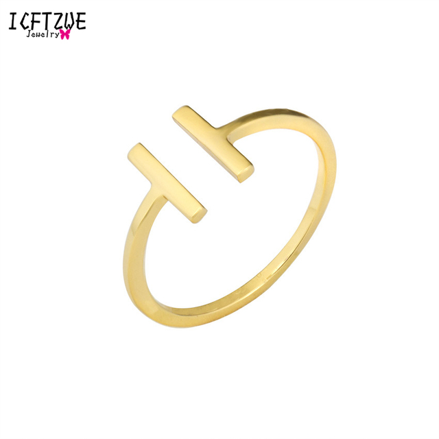 ICFTZWE Fashion Jewelry For Women Bff Anel Femme Bijoux Son of Anarchy Ring Geom