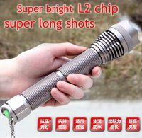 Супер яркий HighPower CREE XML-L2 светодиодный фонарик Тактический Военные факел Лампа фонарь для охоты для верховой езды Patrol
