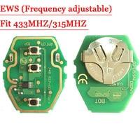 Frete grátis Placa de Circuito EWS Chave Remoto 315MHz ou 433MHz 2 em 1 ajustável Para BMW 2 pçs/lote|board|board board|board circuit -