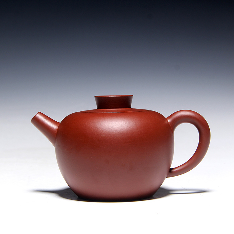 Free Shipping 220ml Yixing Famous Master Handmade Creative Dahongpao teapot Chinese Kung Fu Purple Clay Tea Pot