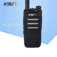 KSUN X-30 Start-versie Walkie Talkie Radio UHF 400-470 MHz Twee richtingen radio Draagbare Communicador Handheld HF-transceiver