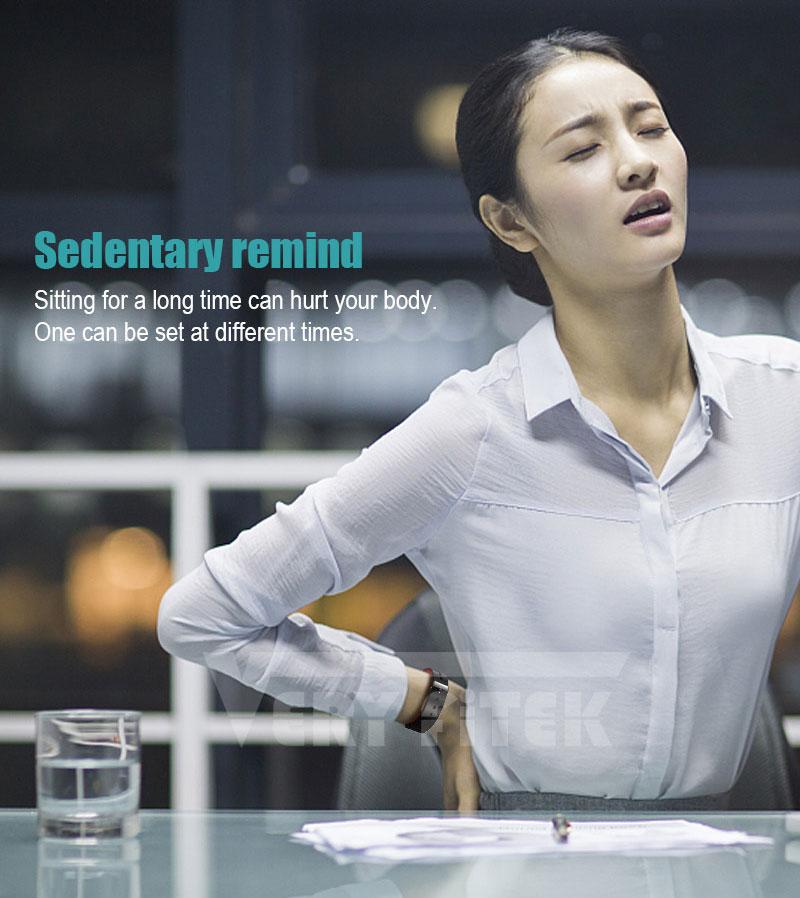 VERYFiTEK Smartwatch Blood Pressure Heart Rate Monitor Men Women Sport Watch Pedometer Stopwatch Smart Watch for IOS Android (16)