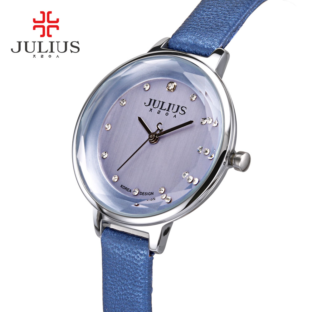 2017 Hot Fashion Relogio Women Watches Top Brand Luxury Julius Feminino Relojes Mujer Erkek Kol Saati Ladies Quartz Wristwatches julius quartz watch ladies bracelet watches relogio feminino erkek kol saati dress stainless steel alloy silver black blue pink