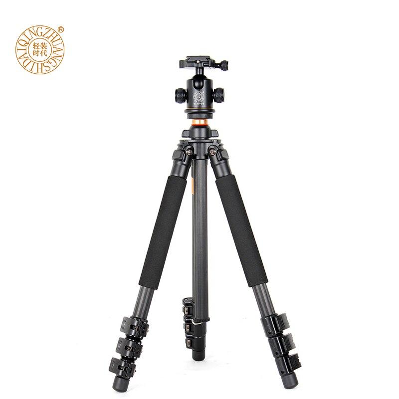Nové produkty Q472 Profesionální fotografický přenosný stativ s kuličkovou hlavou a stativovou taškou 360 ° pro digitální fotoaparát # 10%