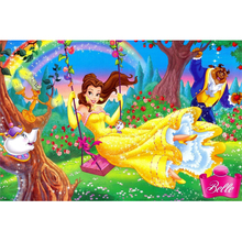 Full Square Drill 5D DIY Beauty and the Beast diamond painting Cross Stitch 3D Embroidery Kits home decor H115
