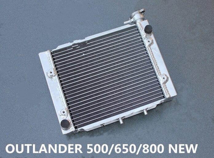 ALUMINUM ALLOY RADIATOR CAN-AM//CANAM OUTLANDER 500//650//800 2006-2012 2008 2009