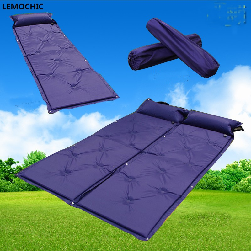 High quality Barbecue Camping Equipment matelas gonflable tourist tent mat sleeping picnic blanket mat yoga pad air inflatable худи print bar gnar
