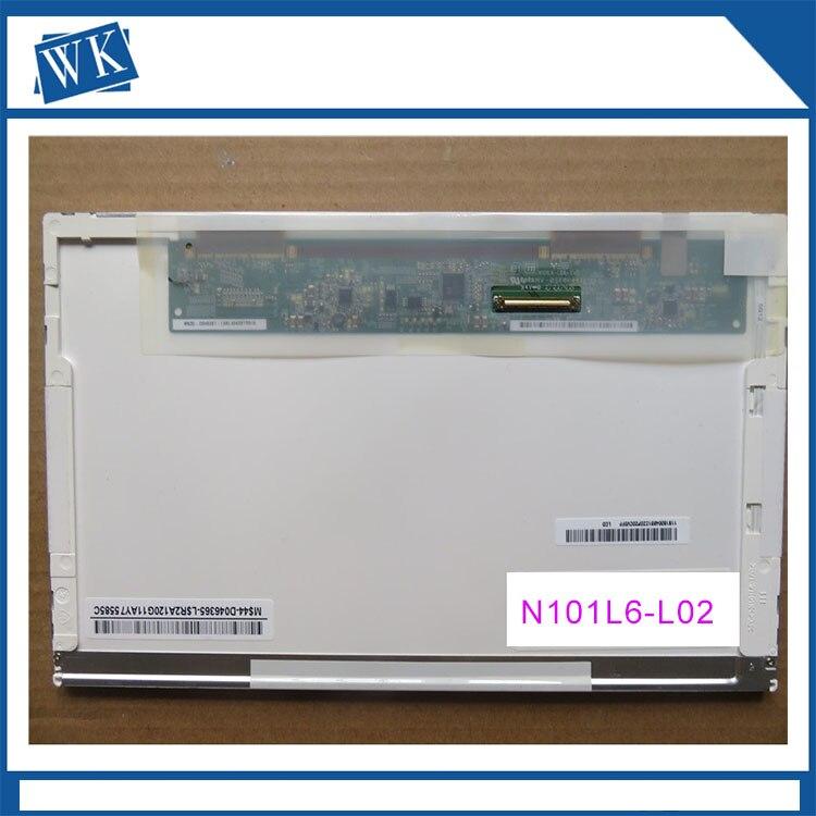 B101AW03 LTN101NT02 LTN101NT06 N101L6-L02 LP101WSA tla1 For Acer Aspire one D150 NAV50 KAV10 KAV60 ZG8 lcd screen ltn101nt02 ltn101nt06 n101l6 l02