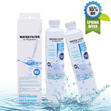 Hot Sale! Refrigerator Water Filter for Samsung DA29-00020B Aqua-Pure Plus Activated Carbon Replacement Water Filter 2 Pcs/lot