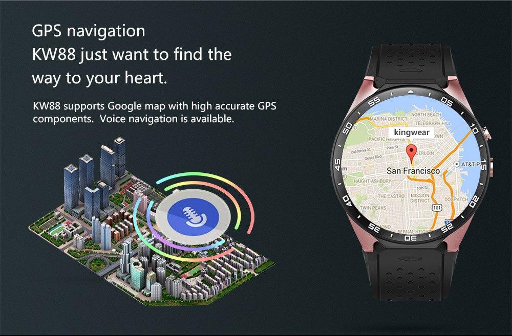 Kaimorui KW88 Smart Watch Android/ IOS Kaimorui KW88 Smart Watch Android/ IOS HTB1DeJYSFXXXXX XpXXq6xXFXXXh