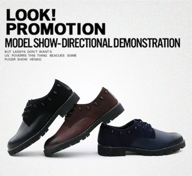 brown Hommes Belle Casual Patchwork Couleur blue Appartements Xz1115 Faible Chaussures Mode Pop Black Mélangée Printemps Wear TxqxFAZw