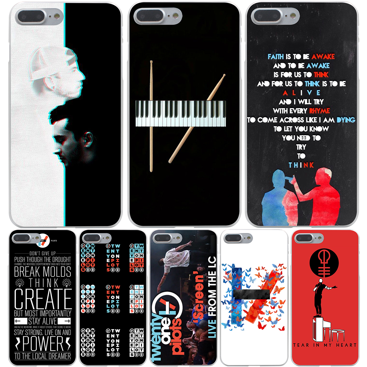 Twenty One Pilots Iphone Case