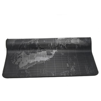 Large Size 1000x500mm World Map Speed Keyboard Mouse Pad Rubber Mat Computer Gaming Mousepad Gamer Utral