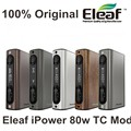 Poder iPower TC 80 W Box Mod iStick Eleaf originais 5000 mah Bateria Cigarro Eletrônico Vape novo firmware modo Inteligente vaporizador