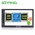 2G + 32G Nuevo Android 5.1 Cuádruple Núcleo Universal Car Audio Estéreo GPS de Navegación Doble 2 Din 1024*600 HD Del Coche de Radio Multimedia jugador