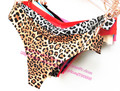 Leopard underwear Women Sexy Underwear Bow Sexy Panties Cotton Hot Sale Ladies Lingerie Briefs VS Lace erotic G-String Thong