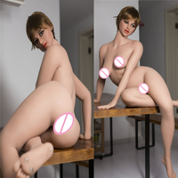 162cm WMDOLL B Cup Real Silicone Doll For Sex Full Body Realistic Sexy Love Dolls Japanese Mannequins Vagina Pussy Sexual Toys