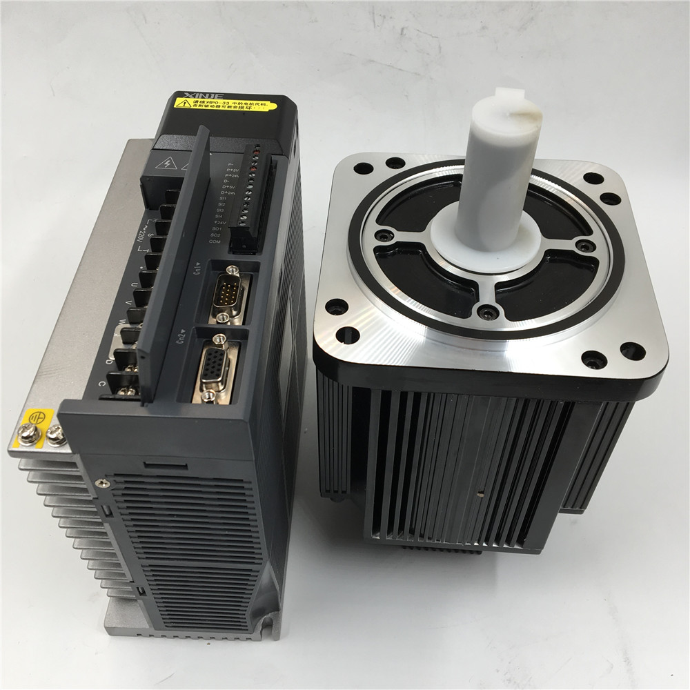 2.3KW Flange 130mm 2500rpm AC 220V Servo Motor Driver 7.7Nm with 3meter Encoder Cable & Power Cable CNC Kit MS-130ST-M077 1000w 1kw 80mm 3 18nm 3000rpm ac servo motor driver kit nema32 ac220v with 20bit and 3m cable jasd10002 20b 80jasm5102k 20b