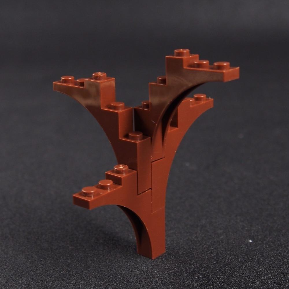 10pcs MOC City Building Blocks Tree DIY Blocks Baseplate Small Bricks Base Figures font b toys